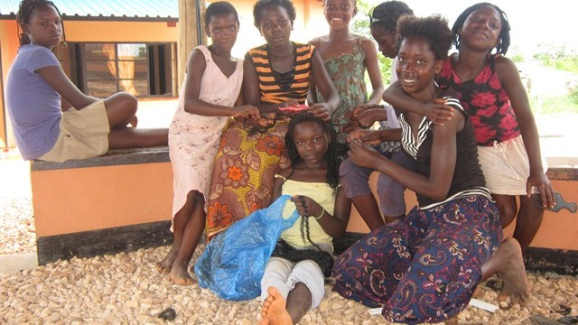 news - chongwe girls braiding hair