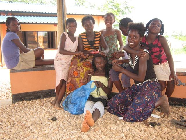 news - chongwe girls braiding hair