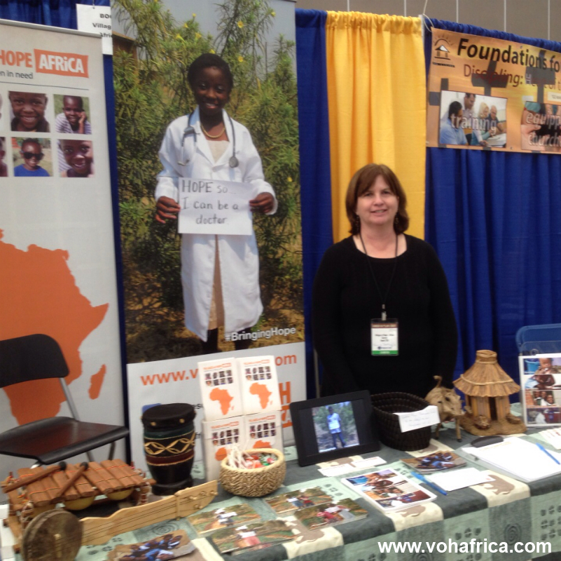 Thanks for visiting us at Missionsfest: This week at Villages of Hope